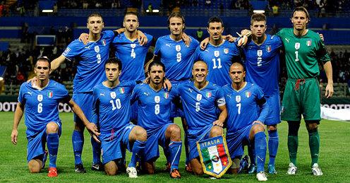 Italia in Sudafrica 2010