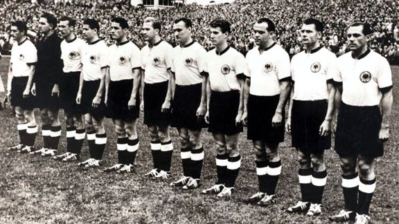 Germania win Svizzera 1954