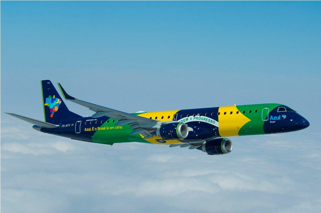 Un aereo Azul Brasile