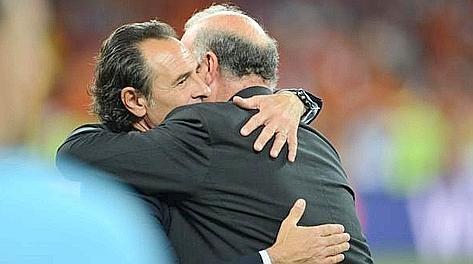 Cesare Prandelli e Del Bosche