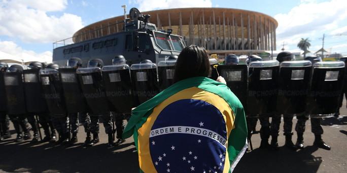 Proteste in Brasile