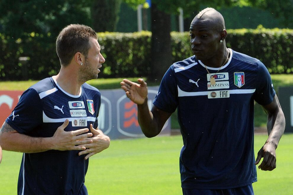 Cassano e Balotelli