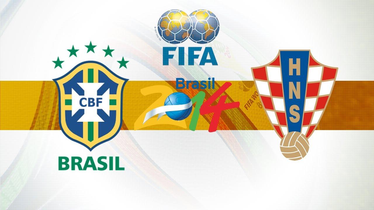Brasile - Croazia, la partita