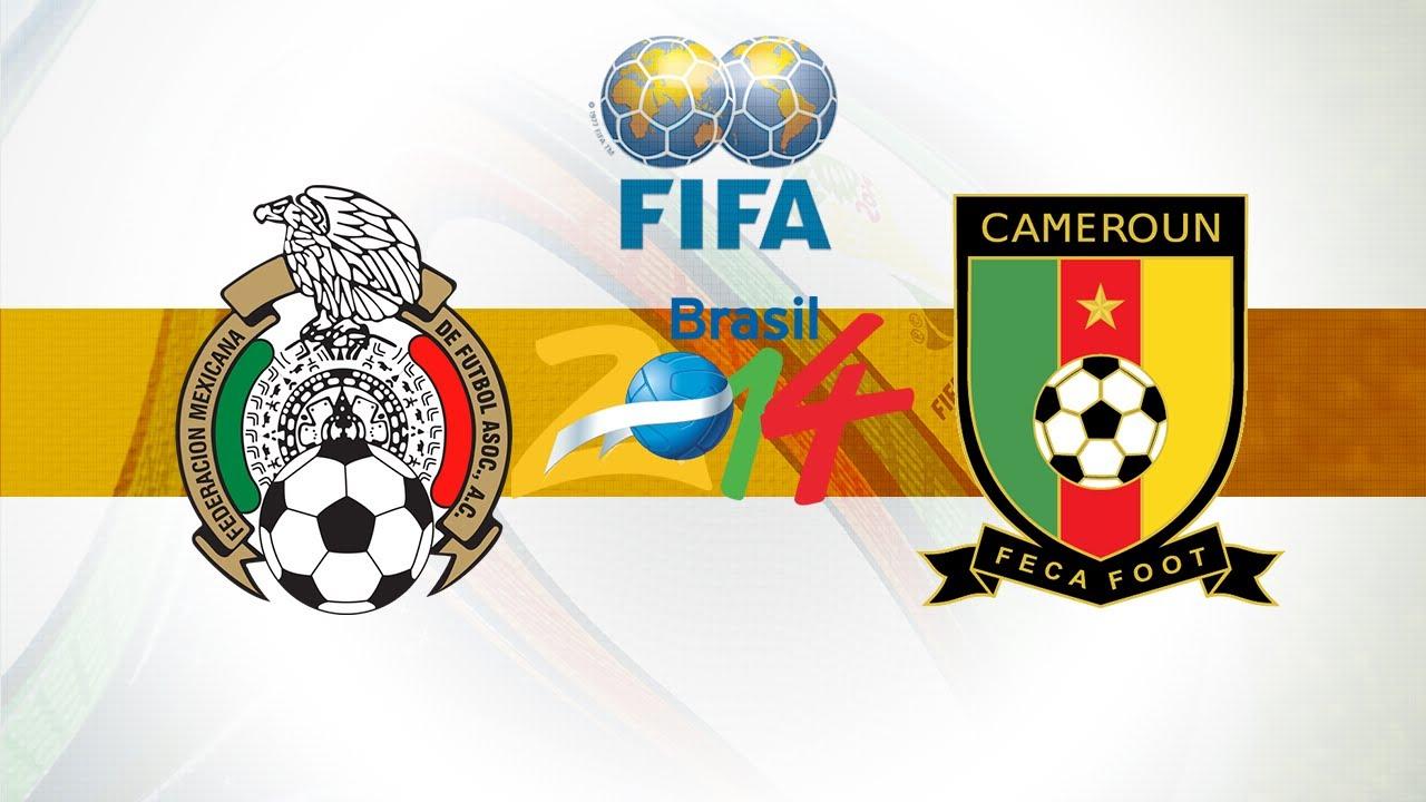Diretta della partita Camerun - Messico
