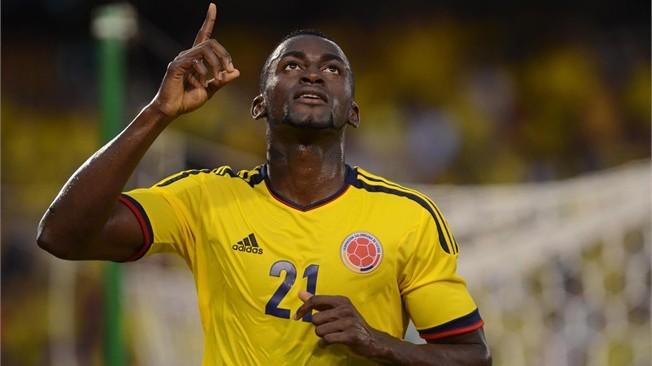 Jackson Martinez con la Colombia