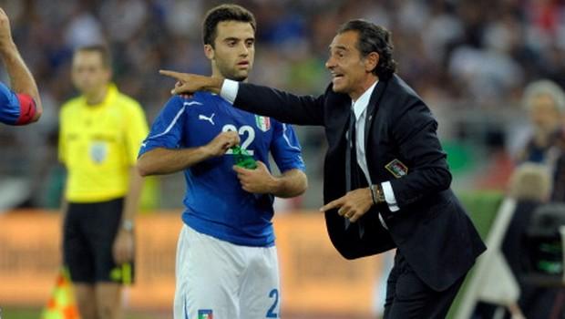 Giuseppe Rossi e Cesare Prandelli