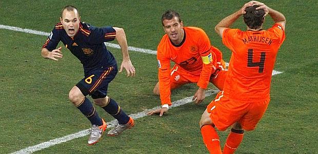 Spagna - Olanda live
