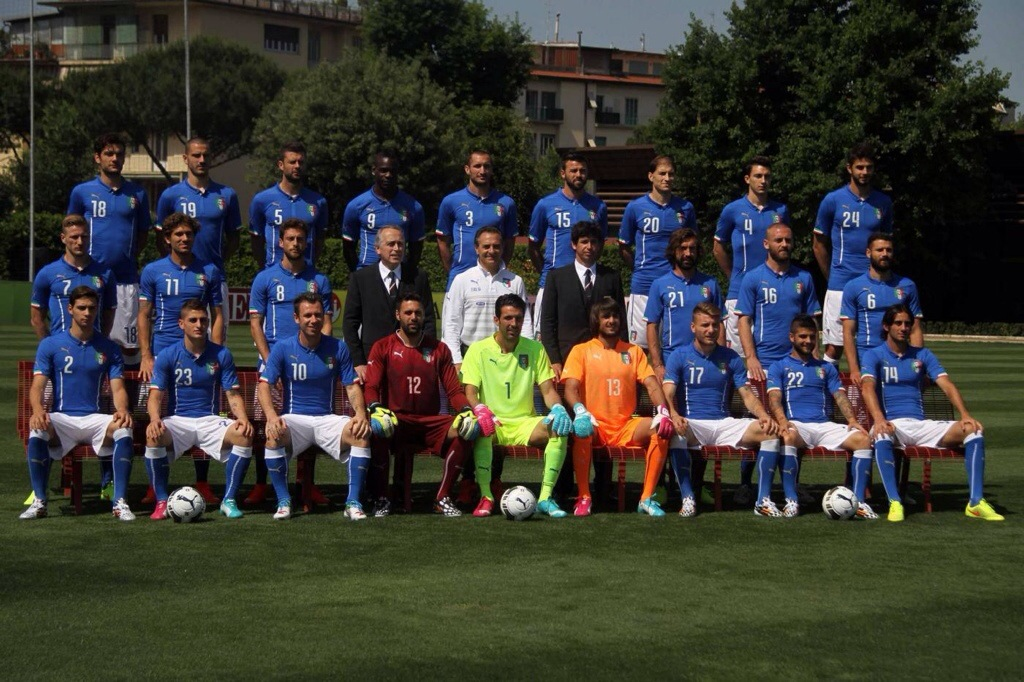 Italia al mondiale 2014