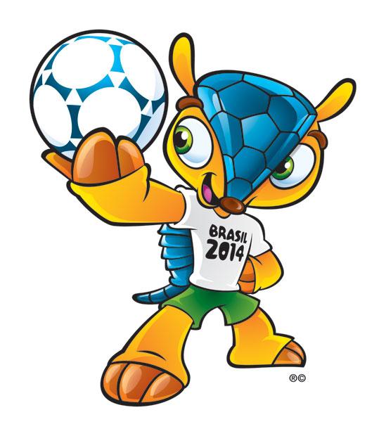 Fuleco, la mascotte di Brasile 2014
