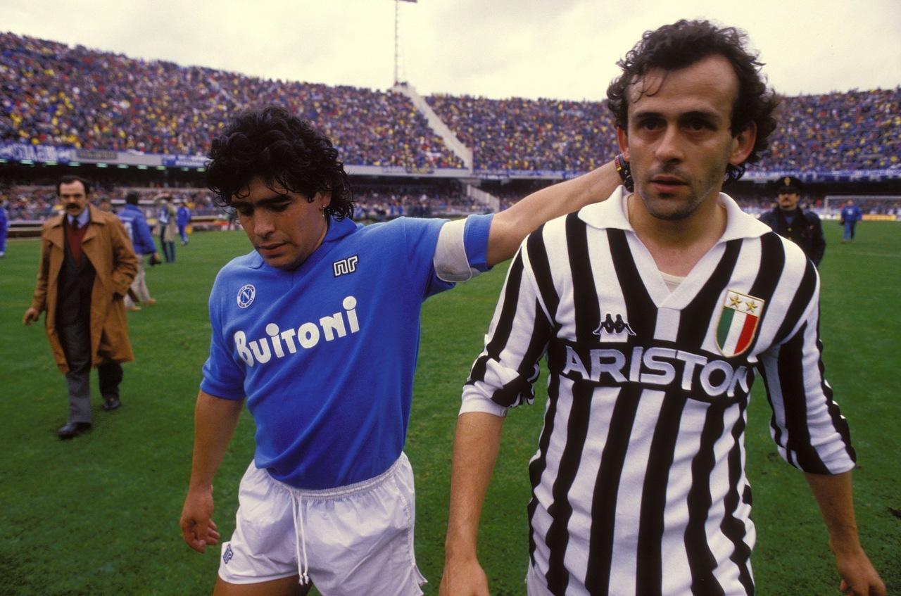 Platinì e Maradona, leggende di Francia e Argentina