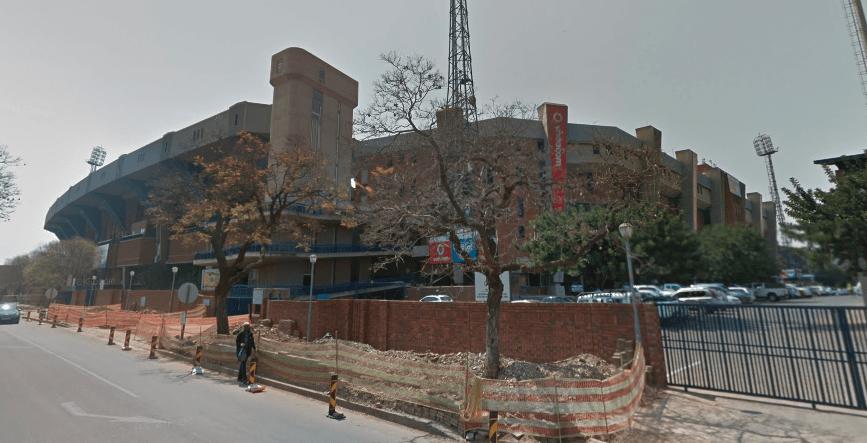 Loftus Versfeld Stadium di Pretoria visto dall'esterno