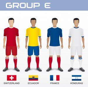 Gruppo E del Mondiale 2014 con Svizzera, Ecuador, Francia e Honduras