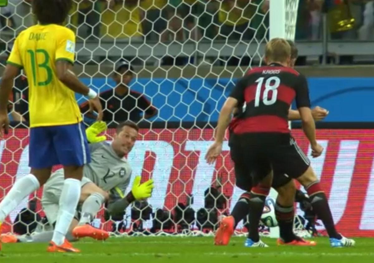 Il gol di Klose in Brasile - Germania 1-7
