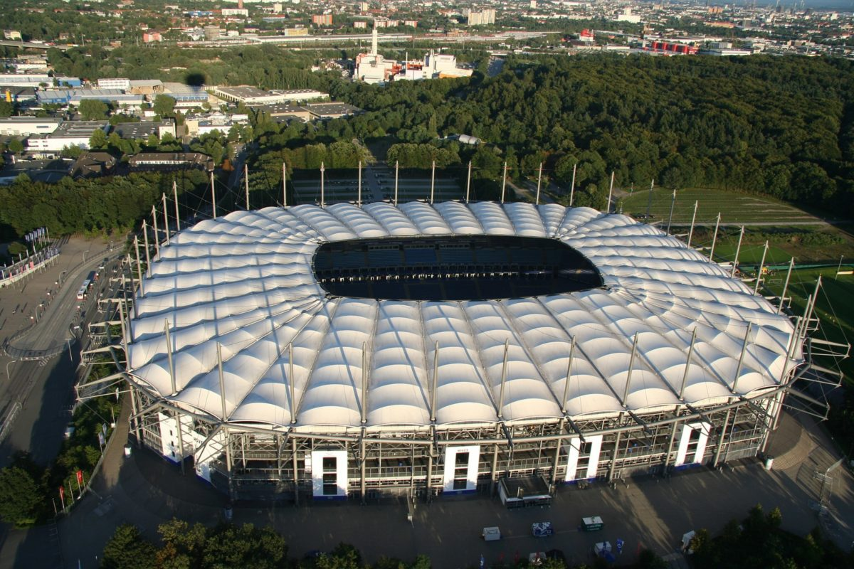 Volksparkstadion di Amburgo